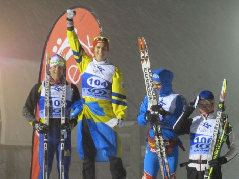 L-R: Phillip Bellingham (AUS), Victor Gustafsson (SWE), Ilya Chernousov (RUS), Alexey Chernousov (RUS)
