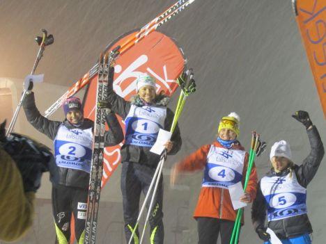 L-R: Lauren Fritz (USA), Esther Bottomley (AUS), Marina Chernousova (RUS), Anna Trnka (AUS)