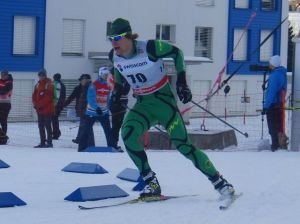 Phillip Bellingham in the Davos Sprint