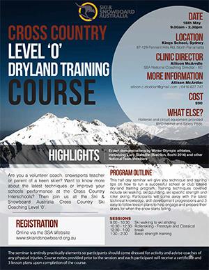 XC Level 0 Dryland