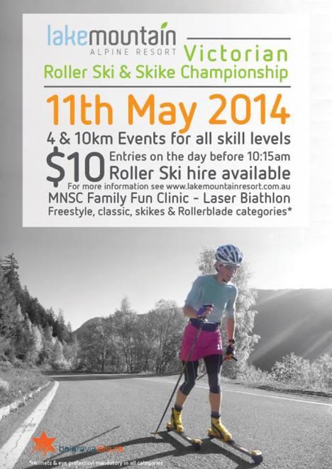 Lake Mountain Roller Ski Challenge pic