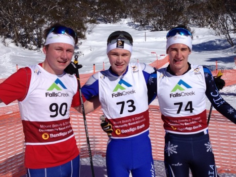 Junior Men Podium