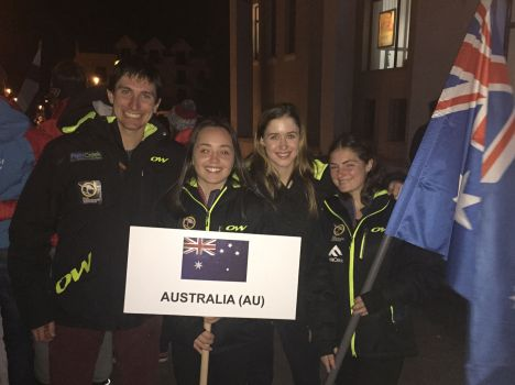 AUSXC athletes Rasnov 2016