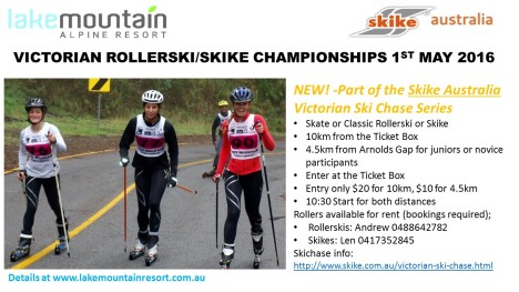 VIC Rollerski Champs Flyer 2016