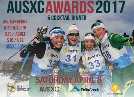 2017 AUSXC Awards Flyer